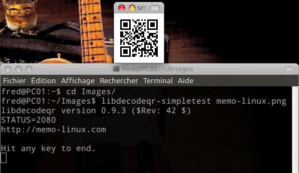 ubuntu qrcode