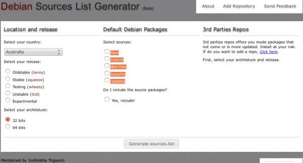 debian generateur source.list
