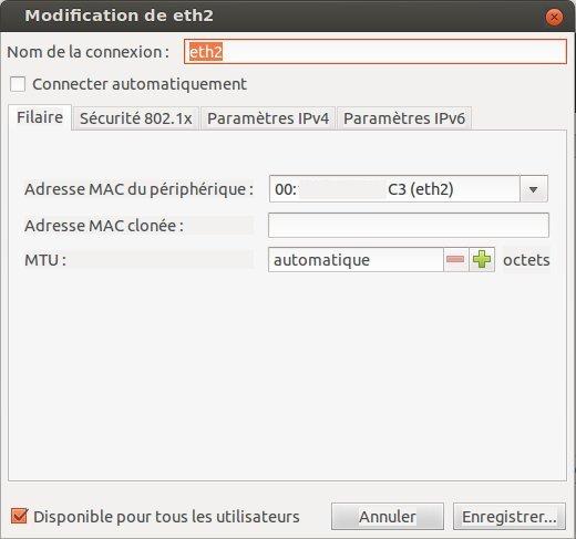 ubuntu reseau