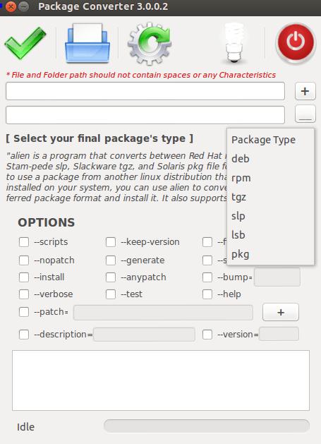 packageconverter