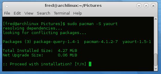 archlinux-terminal