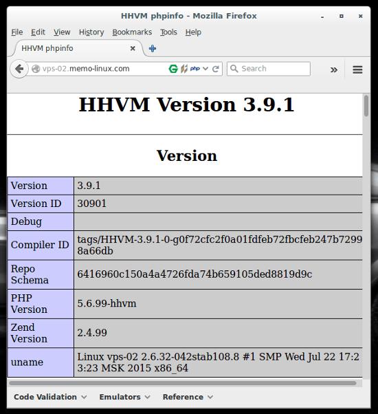 hhvm-info