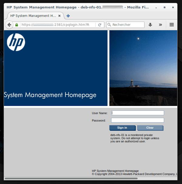 HP-System-Management-Debian