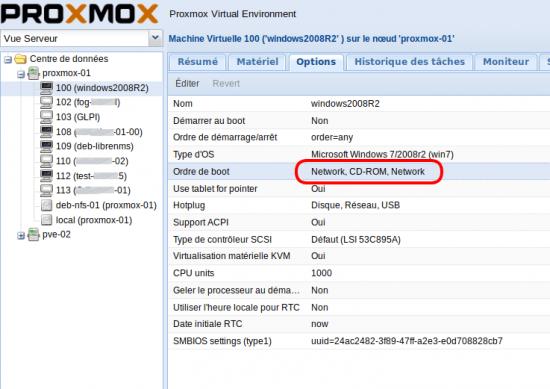 proxmox-boot-option-nerwork
