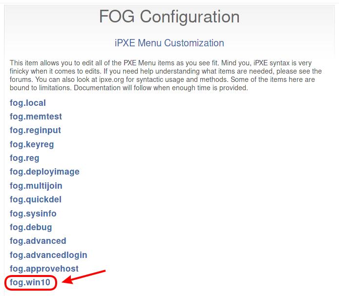 Ipxe Config