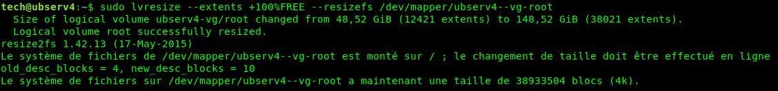 Proxmox : étendre l'espace disque avec LVM | memo-linux com
