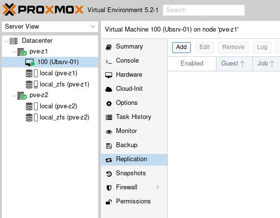 Proxmox 5 : cluster 2 nœuds avec un stockage répliqué | memo-linux com